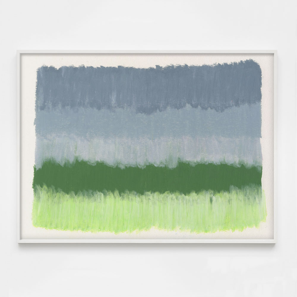 grey and green abstract art