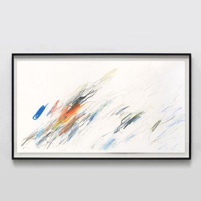 minimalist primary color abstract painting
