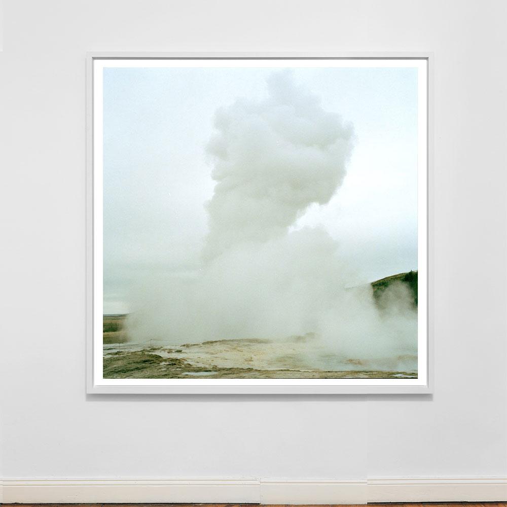 icelandic geyser photograph