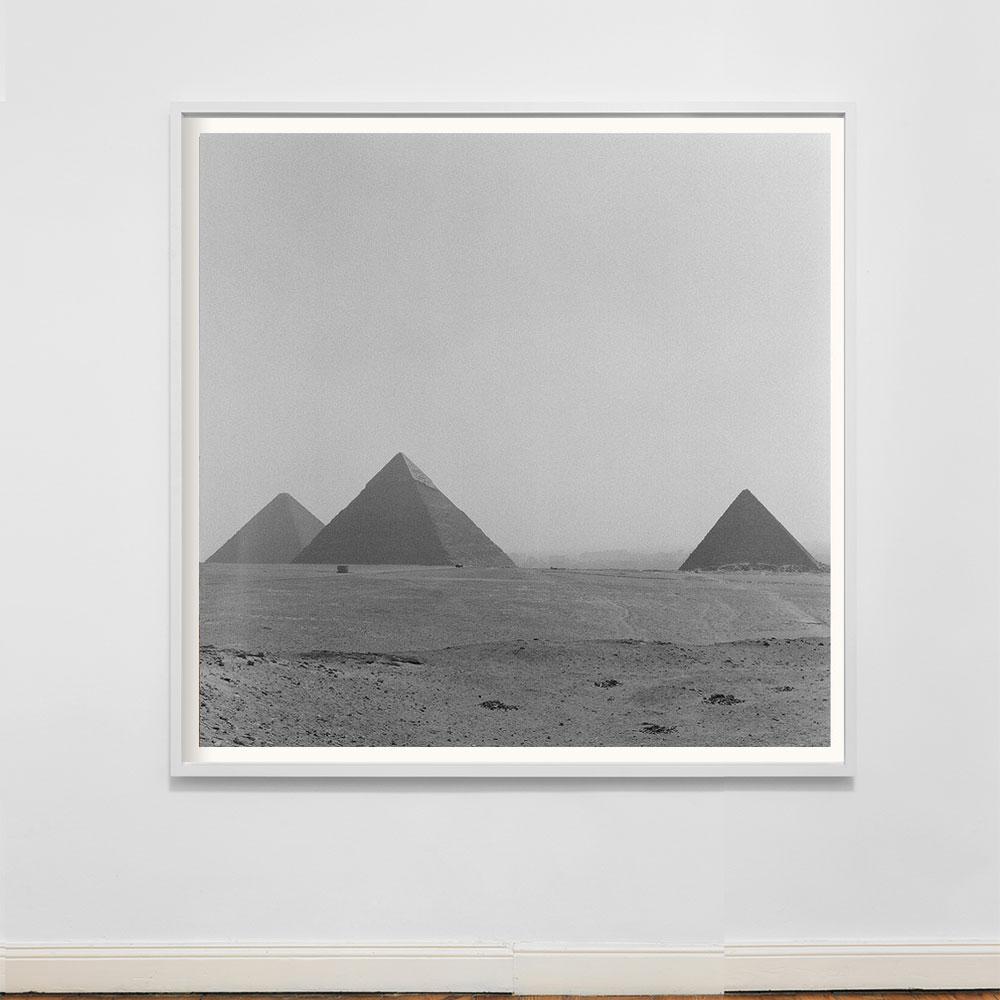 pyramids of giza photograph