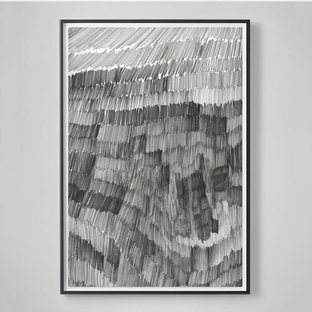 Large Black and White drawings