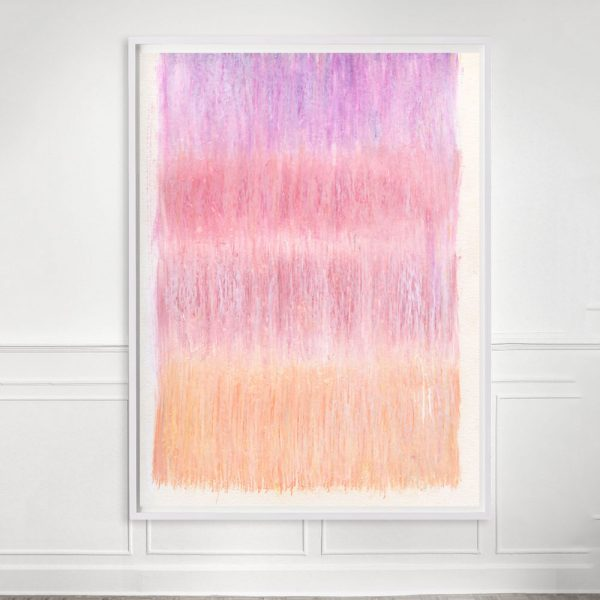 abstract pastel pink art