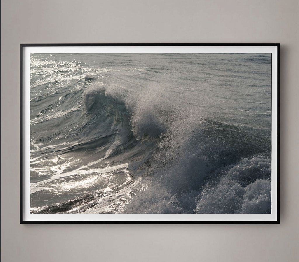 crashing surf photograph