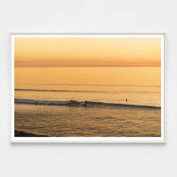 yellow surfer photograph