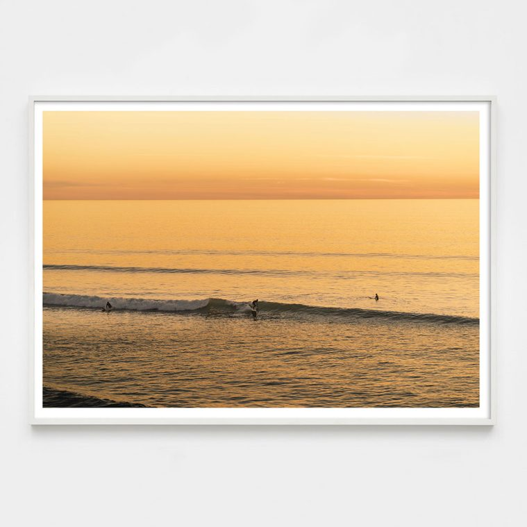 yellow surfer photograph
