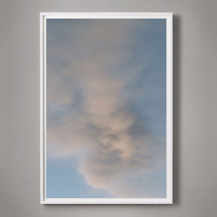 large vertical cloud photograph