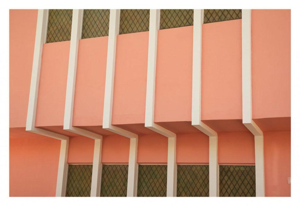 geometric art deco miami beach photograph