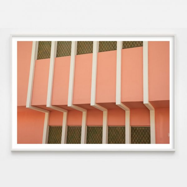 peach colored photograph