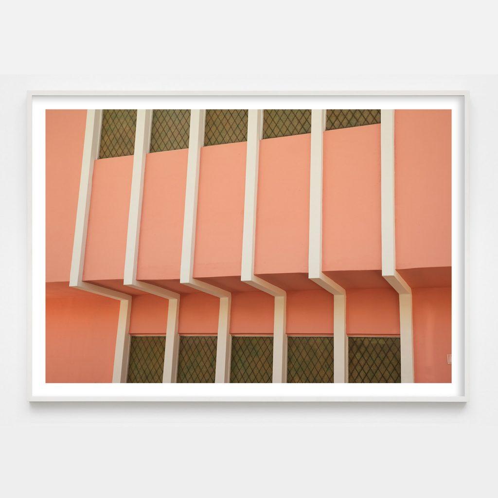 peach colored photograph