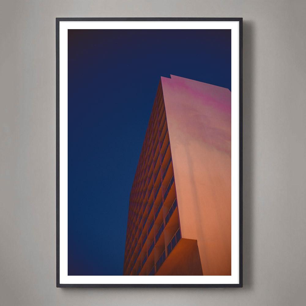 pink architecture photo