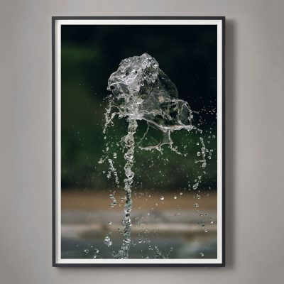 photographic study of water in motion