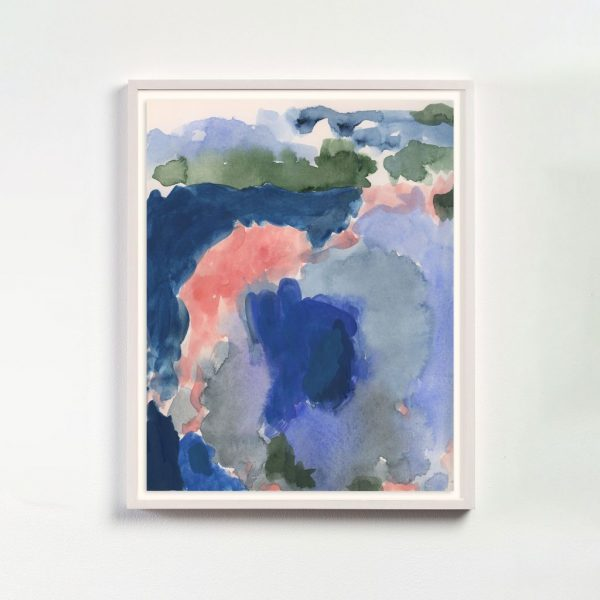 watercolor-blue-pink-green-framed