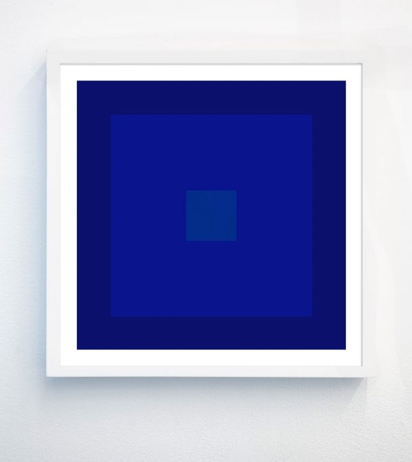 yves klein blue abstract art