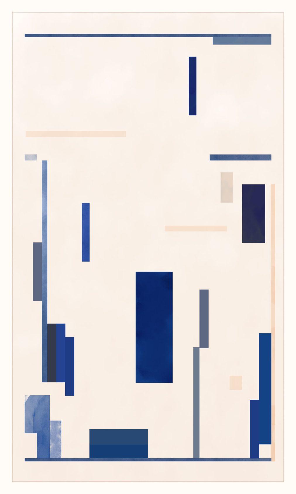 art deco geometric modern art print